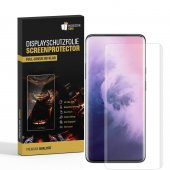 2x Displayfolie für One Plus 7 Pro FULL COVER...