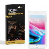 2x Panzerfolie für iPhone 8 Plus HYDROGEL FULL-COVER...