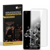 2x Displayfolie für Samsung Galaxy S20 Ultra FULL COVER...