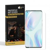 4x Panzerfolie für OnePlus 8 FULL COVER PET Displayschutz...