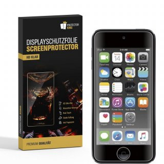 2x Displayschutzfolie für iPod Touch 7 Displayfolie Displayschutz HD KLAR