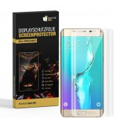 6x Displayfolie für Samsung Galaxy S6 Edge FULL COVER...