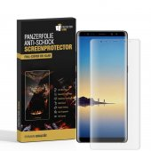 1x Samsung Galaxy Note 8 CURVED PANZERFOLIE DISPLAYSCHUTZ...