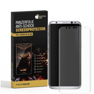 4x Panzerfolie für Samsung Galaxy S9 Plus FULL COVER Displayschutzfolie HD KLAR