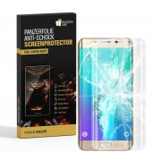 2x Panzerfolie für Samsung Galaxy S6 Edge FULL COVER...