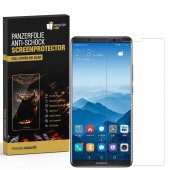 3x Panzerfolie für Huawei Mate 10 Pro FULL COVER...
