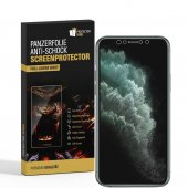 6x Panzerfolie für iPhone XR FULL COVER ANTI-SCHOCK...