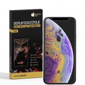 3x Displayschutzfolie für iPhone XS ANTI-REFLEX...