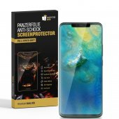 3x Huawei Mate 20 Pro FULL COVER PANZERFOLIE...