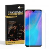 4x Displayfolie für Huawei P30 Pro FULL COVER CURVED...