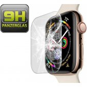 1x 9H Hartglas für Apple Watch 4 & 5 40mm FULL COVER...